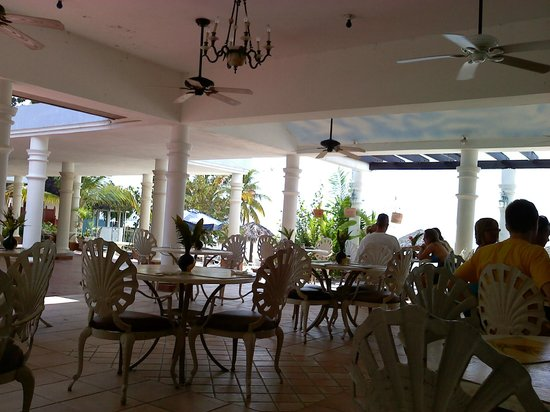 Beachcomber Club:                   At least the dining area was actually nice. Too bad I missed out on most of th