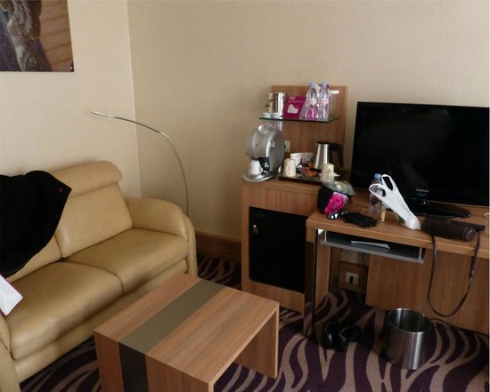 Crowne Plaza Toulouse:                   Nice comfort