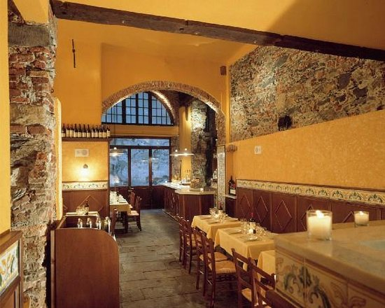 I Tre Merli Antica Cantina: La sala principale