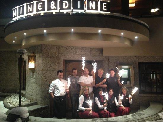 Wine and Dine:                   Wine&Dine Team