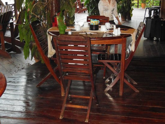 Luang Say Lodge: Dining area