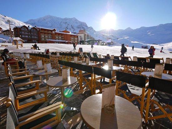 Restaurant La Face Ouest: terrasse
