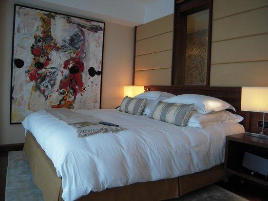 Jumeirah Frankfurt: un lit extrêmement confortable