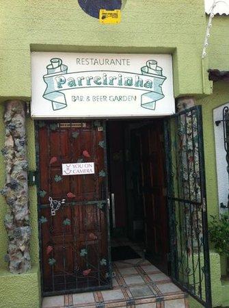Restaurante Parreirinha:                   entrance