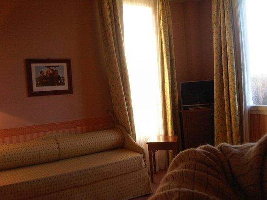Savoia Hotel Regency:                   Televisore