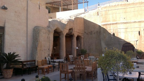 Crowne Plaza Resort Petra:                   la terrasse