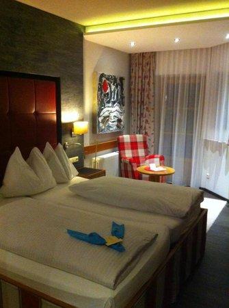 Hotel Sommer:                   sehr modere Zimmer