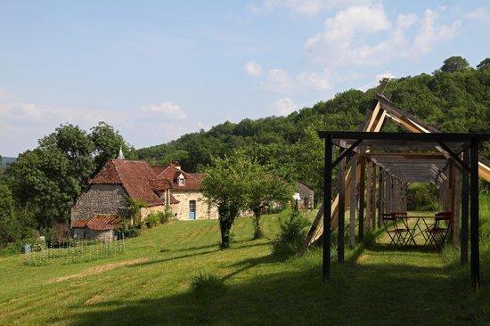 Domaine de la Piale : Tonnelle