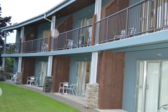 Clearbrook Motel Wanaka:                                     Ground floor & Upper floor units