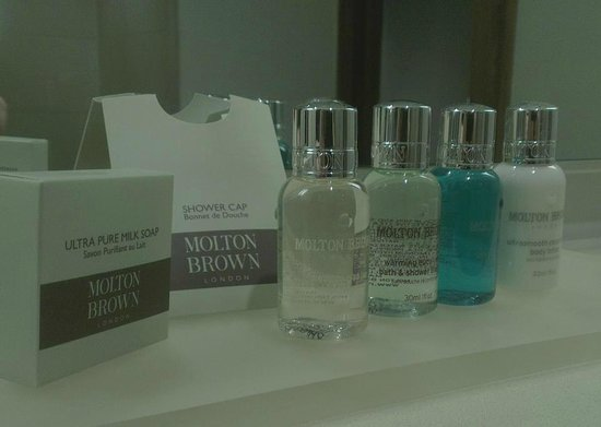Rudding Park Hotel:                                     Bathroom goodies