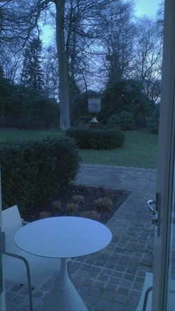 Rudding Park Hotel:                                     view from the room