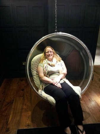 Rudding Park Hotel:                                     Very comfortable chair