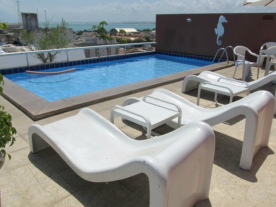Pajucara Praia Hotel:                                     The pool on the top floor (the is another one on the 1st.)