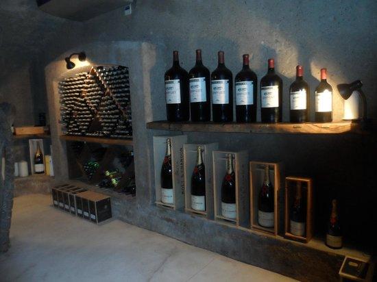 Sabi Sabi Earth Lodge:                                     The Wine cellar