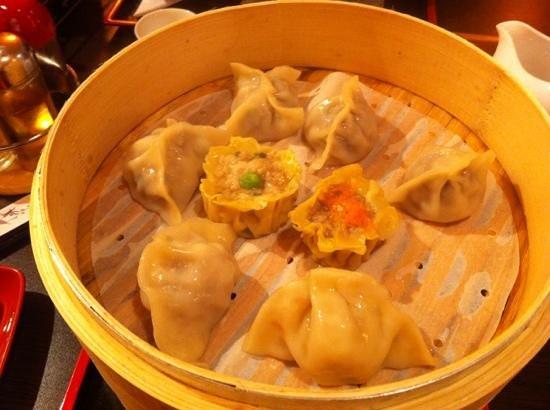 Meadowood Cafe:                   perfect dumplings