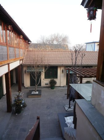 Jingshan Garden Hotel:                                     Courtyard; view from the dining room