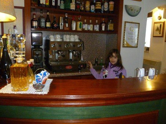 Albergo Paradiso:                   Il bar