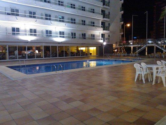 Port Fiesta Park:                                                                         Pool at night