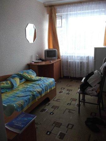 Belarus Hotel:                   The room inside (semi-lux)