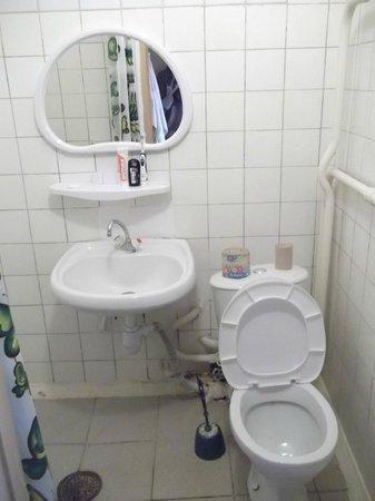 Belarus Hotel:                   Bathroom