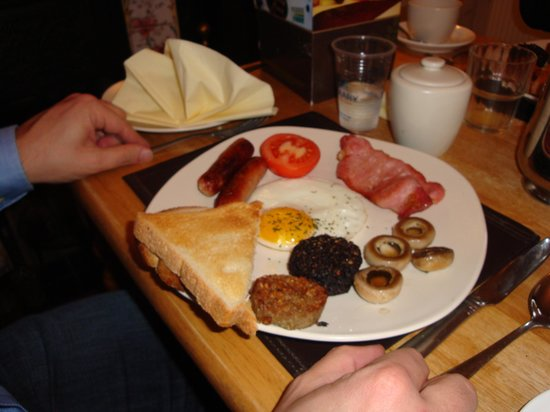 Fernroyd House B&B: Full Irish breakfast al Fernroyd