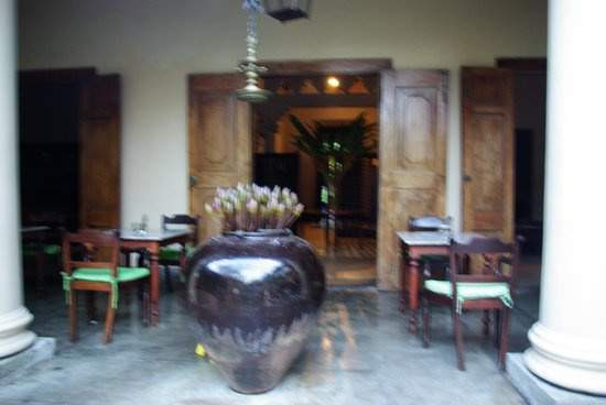 Galle Fort Hotel:                   Dining Area
