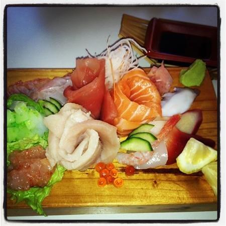 Le Sushi Bar: assortiment Sashimis