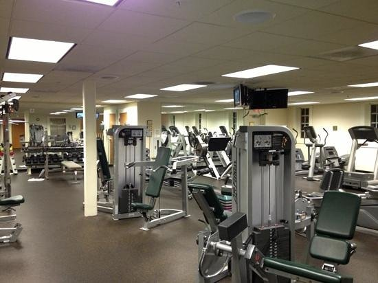 The Founders Inn and Spa: great fitness center