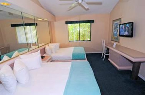 Westgate Vacation Villas: one of the two bedrooms