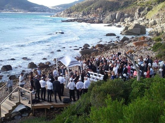 Tintswalo Atlantic:                   wedding ceremony