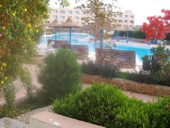 Titanic Resort & Aqua Park :                   vu de notre chambre