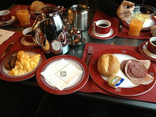 BEST WESTERN Hotel Regence: Frühstücksbuffet