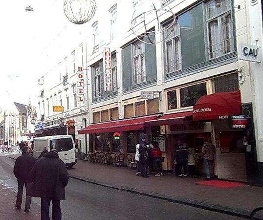 Doria Hotel Amsterdam:                                     Doria Entrance