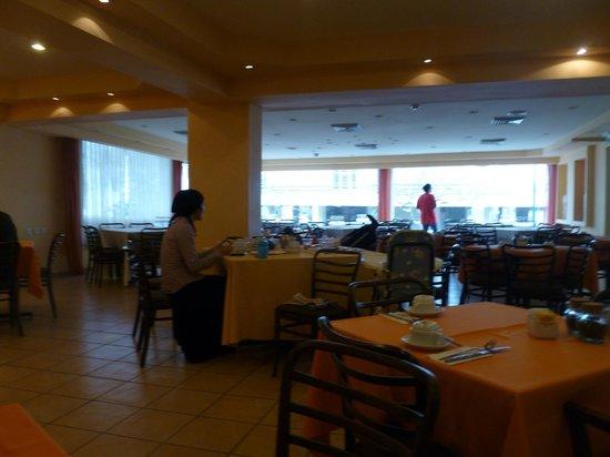 Mizpe Yam Hotel :                   Хороший завтрак,всегда очень вкусный творог