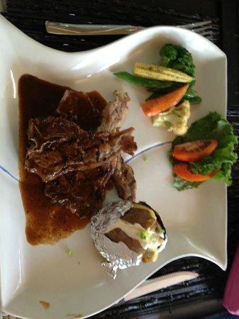 The Lokha Umalas Villas & Spa: This Lamb was my Favourite !!! YUM !!!