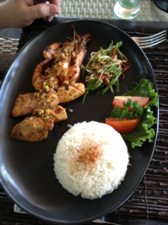 The Lokha Umalas Villas & Spa: I can't remember what this was called but it was delicious