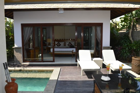 The Lokha Umalas Villas & Spa: Welcome drinks on arrival