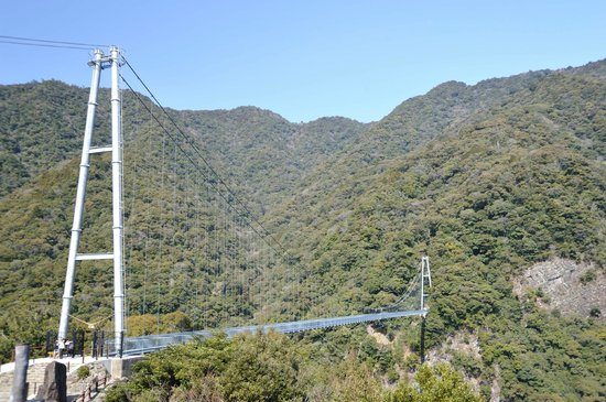 Aya Suspension Bridge :                   大吊橋