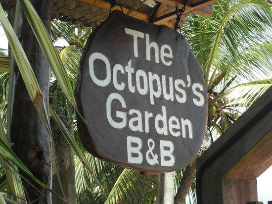 Octopus Garden House: Sign