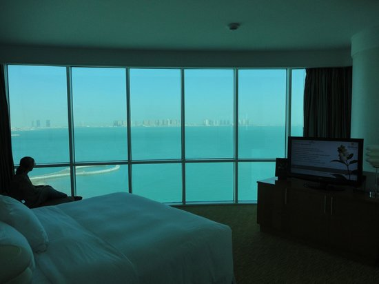 Hilton Doha: more view from bedroom
