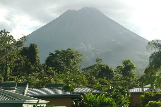 Arenal Manoa Hotel:                   view from your room!