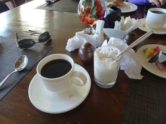 Sofitel Krabi Phokeethra Golf & Spa Resort:                   Request Coffee Cream but ended up w whipped cream? At least waiter tried to fu