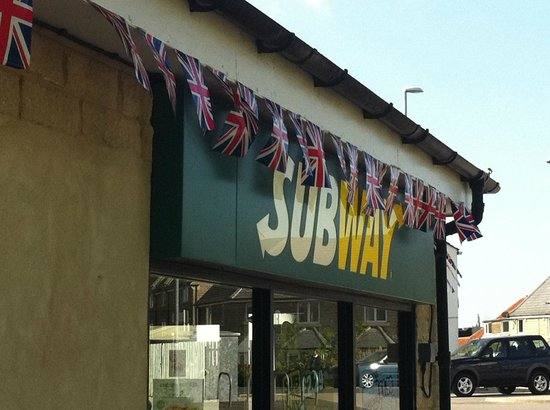 Subway Guiseley: Jubile 2012
