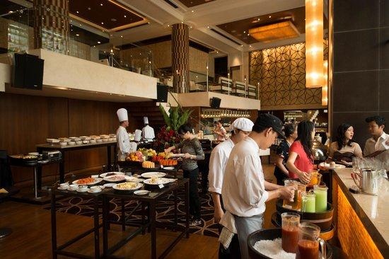 Shangri-La Hotel,Bangkok: buffet