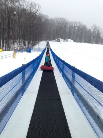 Rocking Horse Ranch Resort :                   Magic Carpet Snow Tubing