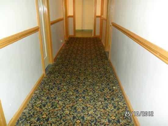 Hotel Carter:                   i corridoi