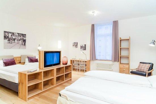 Hotel Alpenblick: Mehrbettzimmer
