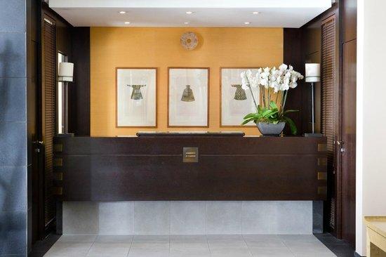 Hotel Jade - Manotel Geneva: Reception