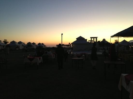 The Merwara Palace:                                     setting sun n cup of tea is wonderful experience