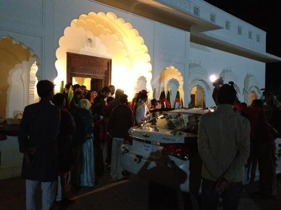 The Merwara Palace:                                     Main Entrance